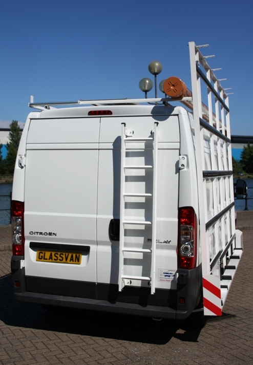 Glazingvans Specialist Vans With Glass Frails Amp Racks